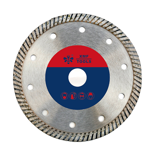 Hot-pressed Narrow Turbo Saw Blade