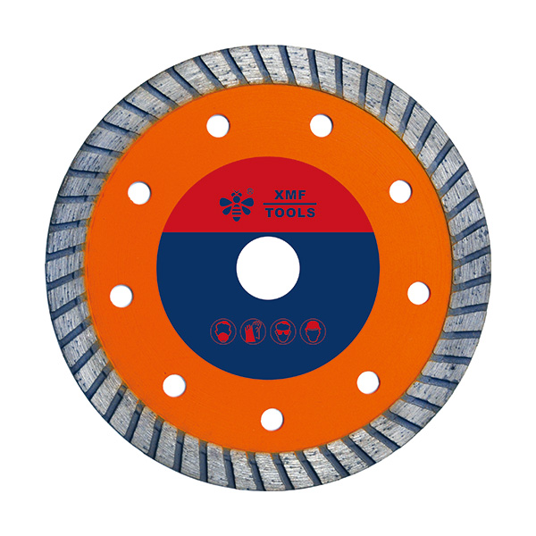 Hot-pressed Mid-turbo Diamond Saw Blade