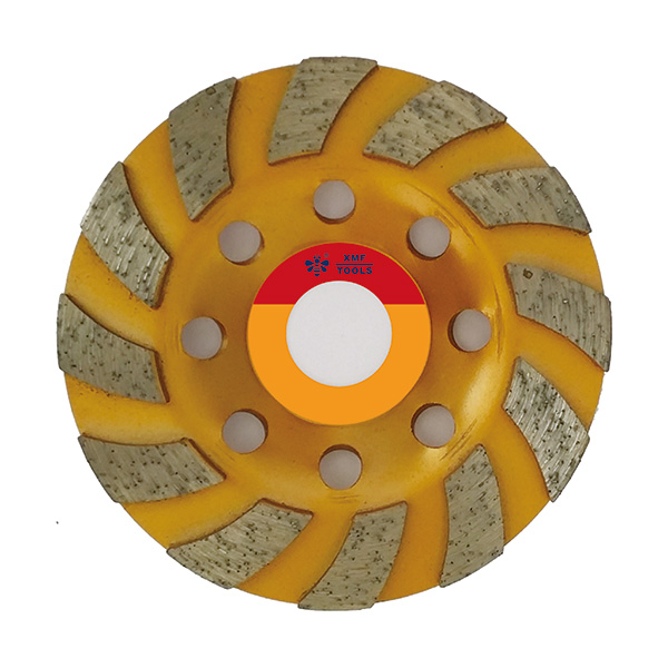 Wide Segmented Cup Wheel