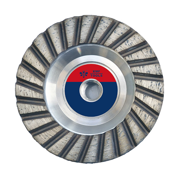 Turbo Row Cup Wheel With Aluminum Base