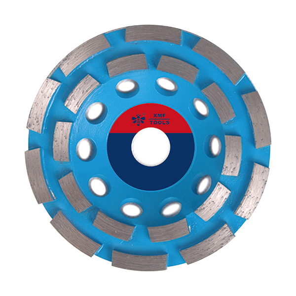 Sintered Silver Brazed Double Row Grinding Wheel